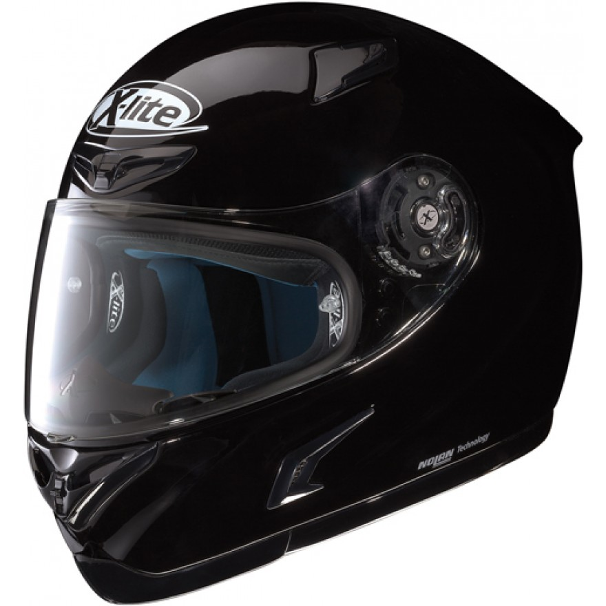 X 802 R Start glossy black Gr. XL